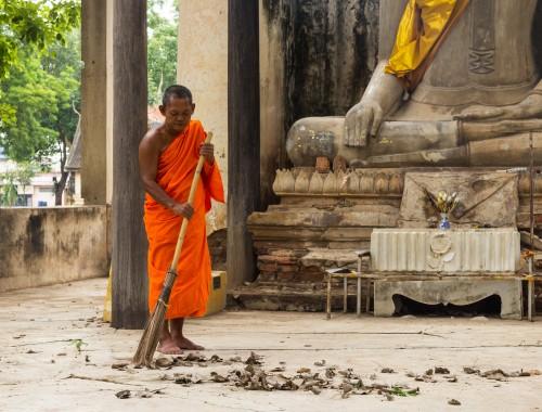 Buddha Sweeping