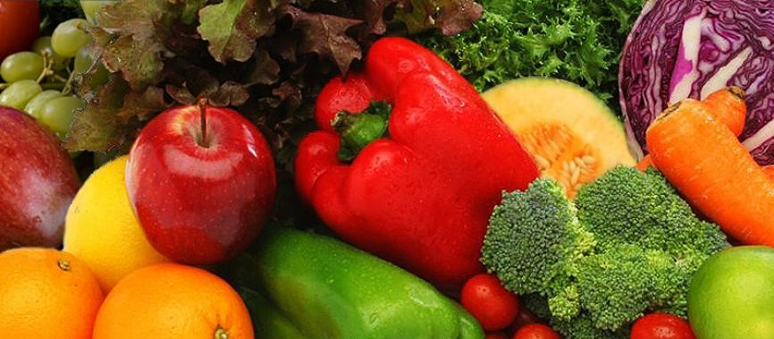 Being a Vegetarian - Picture of Fruit and Veg